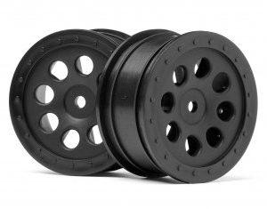 103039 ST-8 WHEEL BLACK (0mm OFFSET/2pcs)