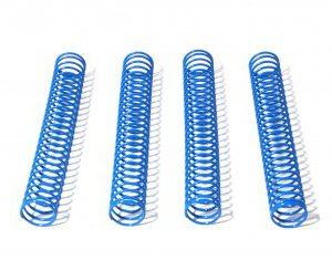 6745 SHOCK SPRING 14.4x117x1.3mm 26 COILS (BLUE/4pcs)