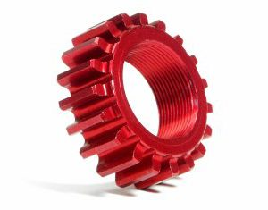 76979 ALUMINUM THREADED PINION GEAR 19Tx12mm (1M)