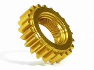 76981 ALUMINUM THREADED PINION GEAR 21Tx12mm (1M)