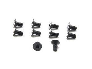 R1B805 Hex Flat Head Screw M3 x 6 (10 pcs)